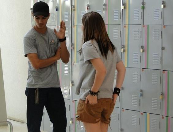 """Em """"Malhação"""", Lia e Gil brigam e terminam de verdade"""