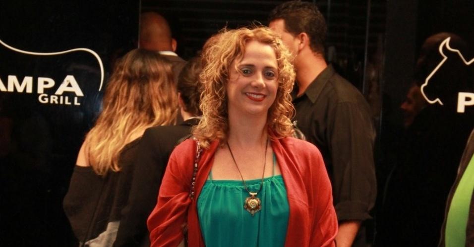 """Letícia Isnard, a intérprete de Ivana, chega para o último capítulo de """"Avenida Brasil"""" (19/10/12)"""