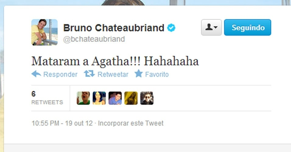 Twitter Bruno Chateaubriand