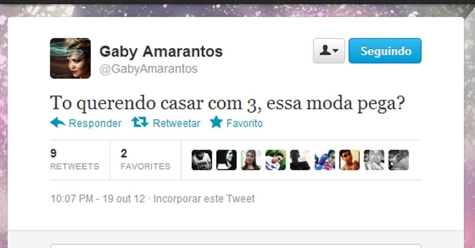 Twitter Gaby Amarantos