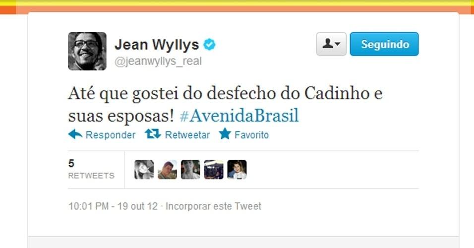 Twitter Jean Wyllys
