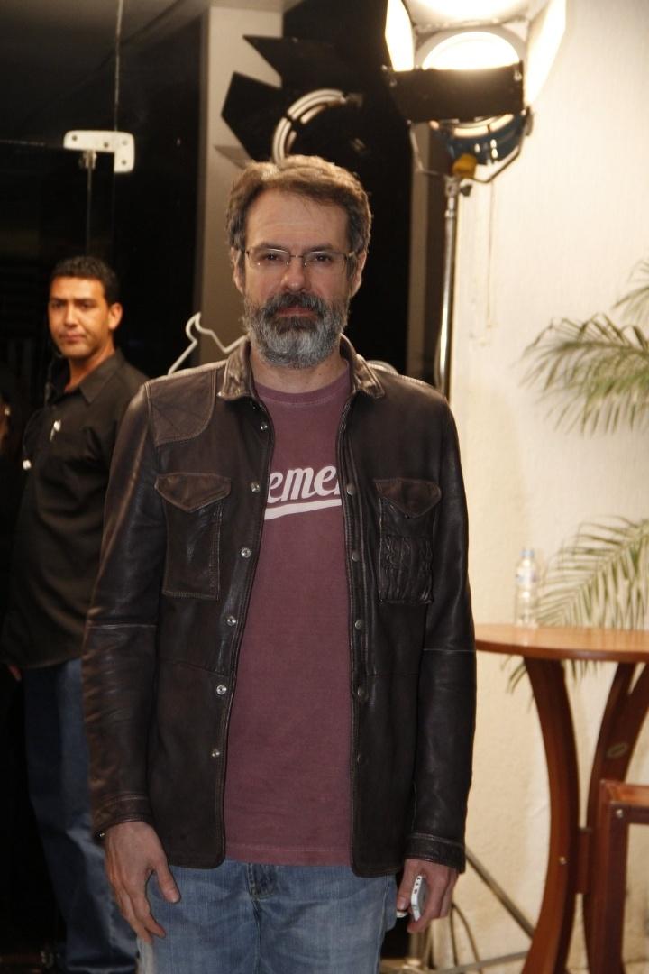 """O diretor de """"Avenida Brasil"""" Ricardo Waddington acompanha o último capítulo da novela com o elenco, no Rio de Janeiro (19/10/12)"""