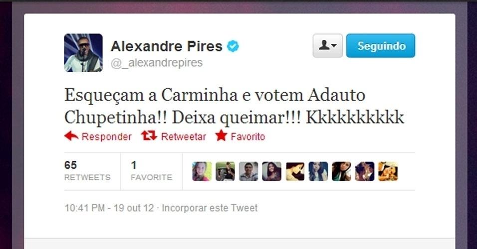 Twitter Alexandre Pires