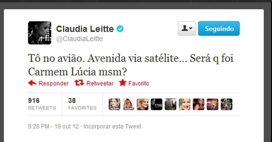 Twitter Claudia Leitte
