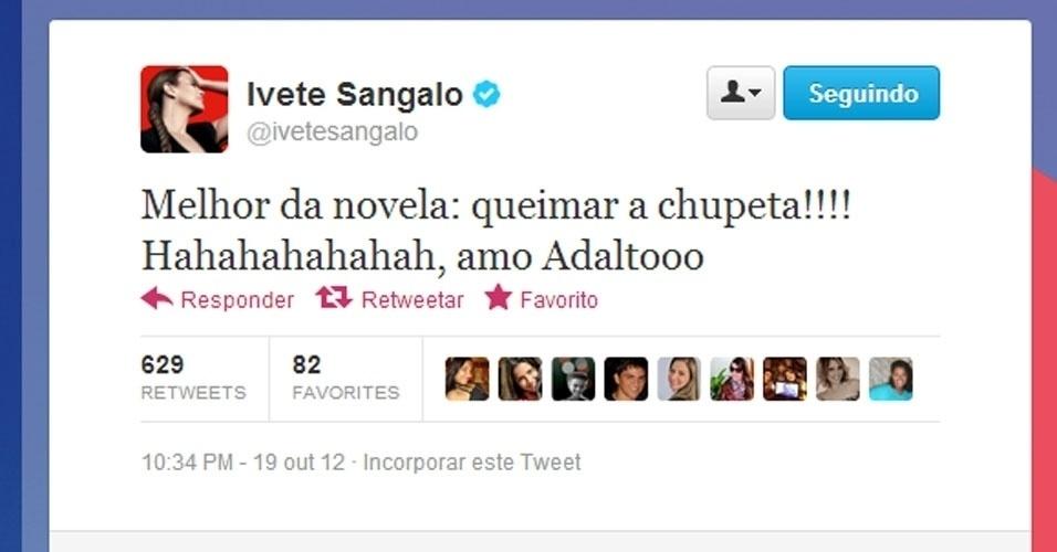 Twitter Ivete Sangalo
