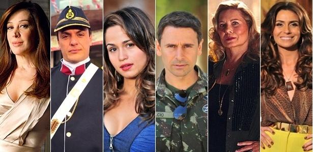 Elenco tem Rodrigo Lombardi, Nanda Costa e Flávia Alessandra - Divulgação/TV Globo