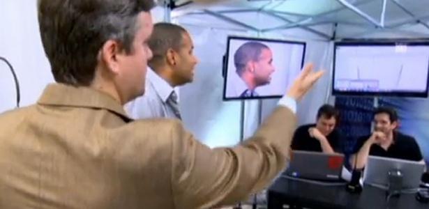 """Roberto Kovalick apresenta reportagem no """"Fantástico"""" inspirada em vídeo que já circula pela web (21/10/12)"""