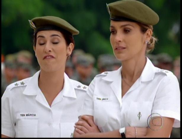 Tenente Érica conversa com que diz que a viu ficando com Théo