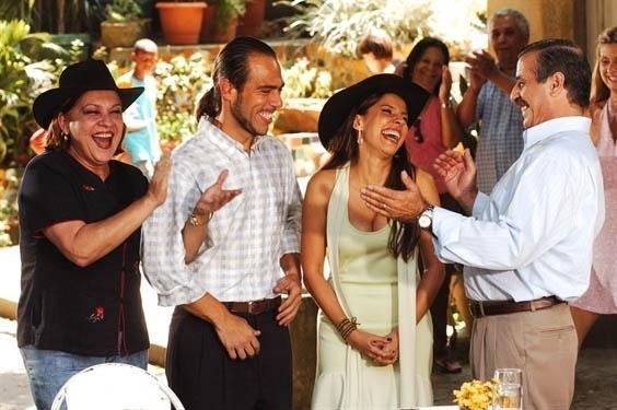 """Regina Dourado em cena de """"América"""". A trama foi a última que a atriz trabalhou na Globo (2005)"""