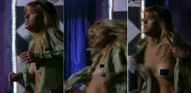 "Carolina Dieckmann durante cena de nudez de Jéssica em ""Salve Jorge"""