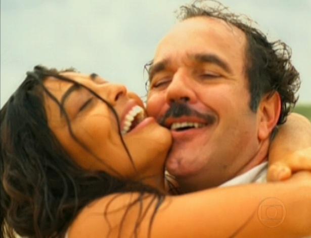 Gabriela e Nacib têm final feliz no fim do remake (26/10/12)