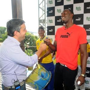 """Usain Bolt é uma das atrações do """"Esporte Espetacular"""" (outubro/2012)"""