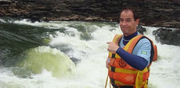 Clayton Conservani é o repórter das grandes aventuras da Globo - Divulgação/TV Globo