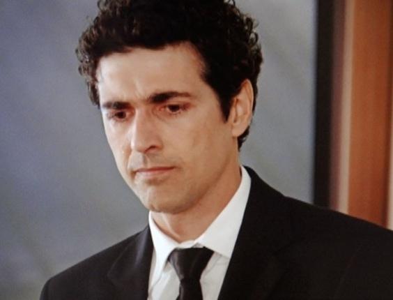 """Em """"Guerra dos Sexos"""", Otávio perde a paciência com Nando e o manda embora (30/10/2012)"""