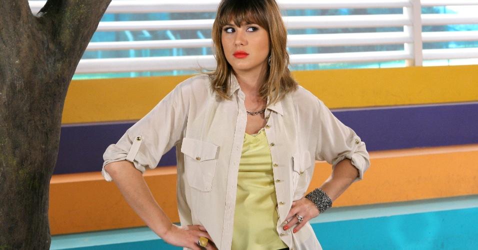 """Em """"Carrossel"""", professora Suzana diz que Helena deixará seus alunos e as crianças ficam apavoradas (2/11/12)"""