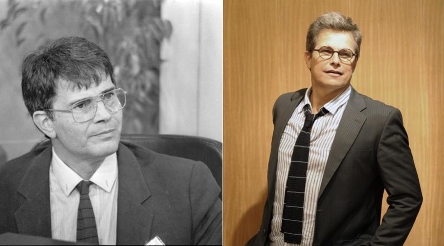 """Na novela """"Guerra dos Sexos"""", exibida em 1983 na Globo, o papel de Felipe era interpretado por Tarcísio Meira. No remake o personagem é vivido por Edson Celulari"""