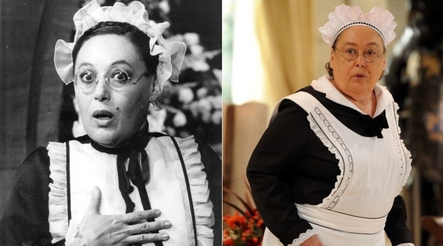 """Na novela """"Guerra dos Sexos"""", exibida em 1983 na Globo,  Olívia era interpretada por Marilu Bueno. No remake a personagem também é vivida pela atriz"""