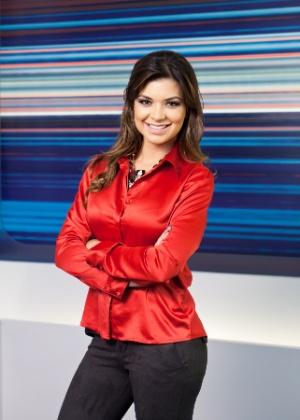 Amanda Françozo substitui mulher de Rodrigo Faro em programa de TV
