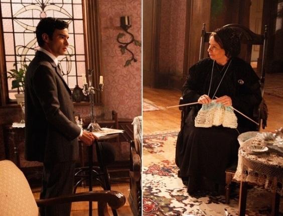 """Em """"Lado a Lado"""", Fernando descobre que não é filho de Margarida (9/11/2012)"""