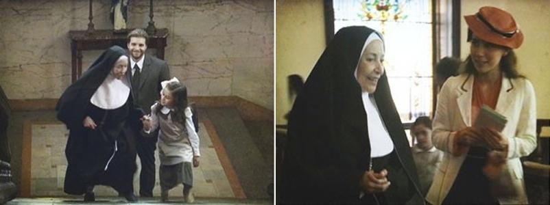 """Em """"Lado a Lado"""", Edgar e Laura quase se encontram no colégio de freiras (12/11/12)"""