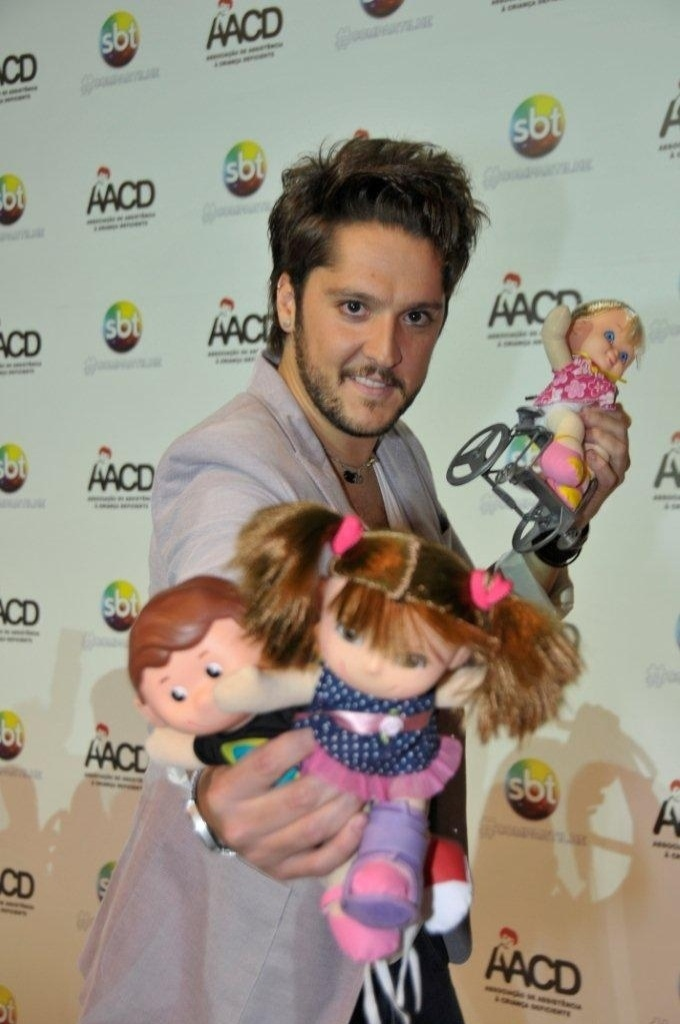 O apresentador André Vasco participa do Teleton 2012, que pretende arrecadar R$ 25 milhões (10/11/12)