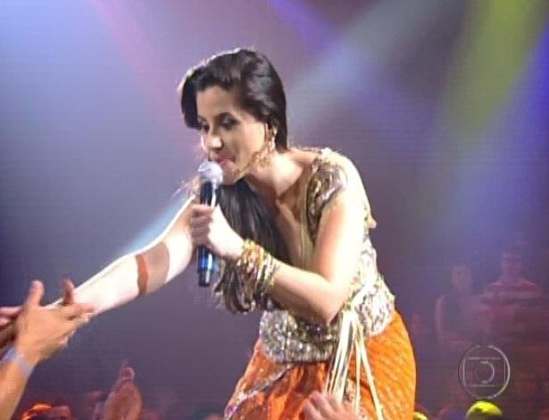 """Mira Callado canta """"Simples Desejo"""", de Luciana Mello, nas semifinais do """"The Voice Brasil"""" (11/11/12)"""