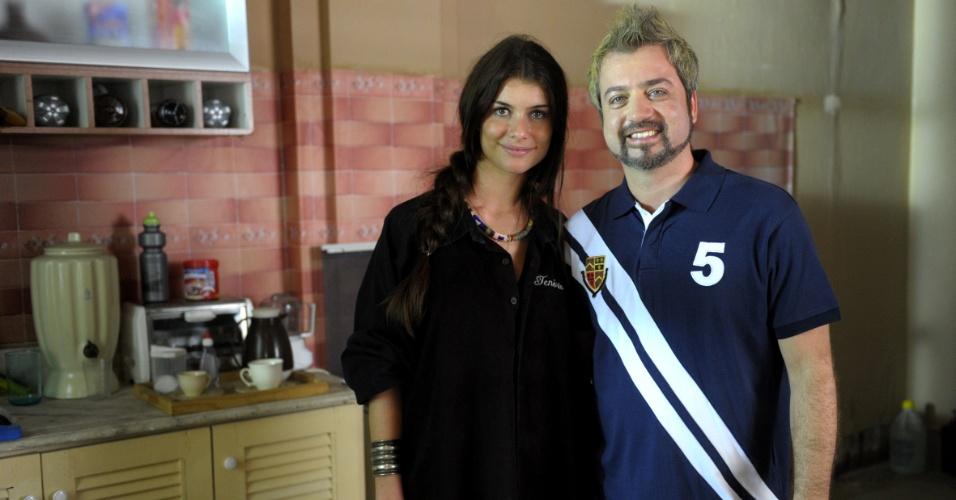 """Rodrigo Candelot faz um ex-namorado de Alinne Moraes no episódio de """"Como Aproveitar o Fim do Mundo"""" que vai ao ar dia 22/11/12"""