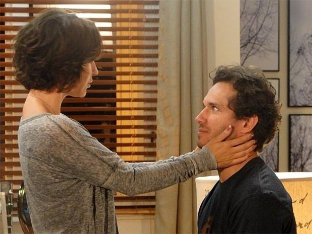 """Em """"Guerra dos Sexos"""", Fábio reata o casamento com Manoela (21/11/12)"""