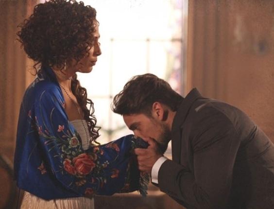 """Em """"Lado a Lado"""", Albertinho se declara para Isabel"""
