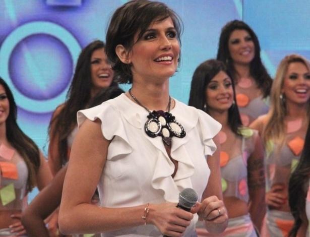 """Deborah Secco participa do quadro """"Divã do Faustão"""" (25/11/12)"""