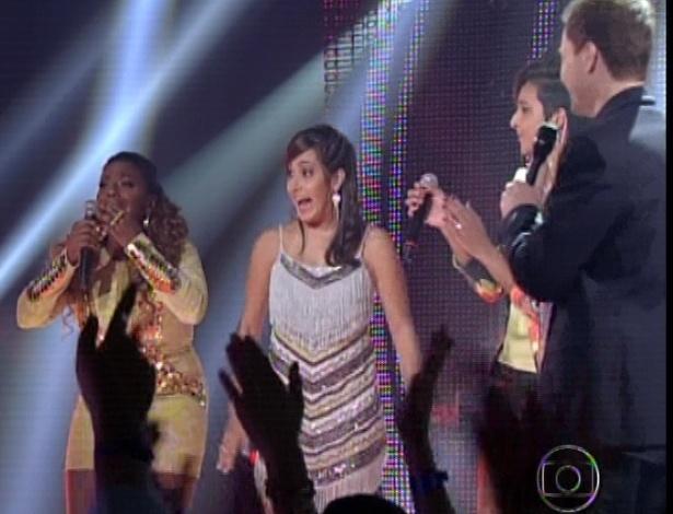"""Ludmilah Anjos é escolhida do público com 43% dos votos na terceira semifinal do """"The Voice Brasil"""" (25/11/12)"""