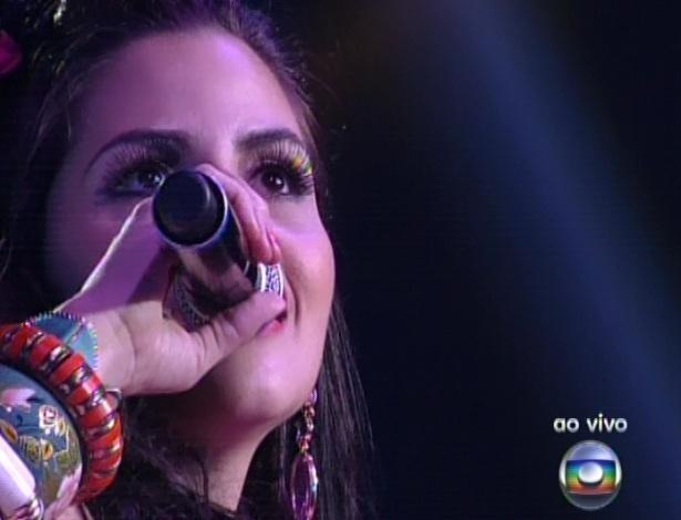 """Mira Callado canta """"Mania de Você"""", de Rita Lee, na quarta semifinal do """"The Voice Brasil"""" (25/11/12)"""
