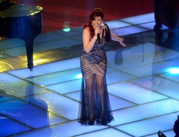 """Patricia Rezende canta ?Um Dia, Um Adeus?, de Guilherme Arantes,na terceira semifinal do """"The Voice Brasil"""" (25/11/12)"""
