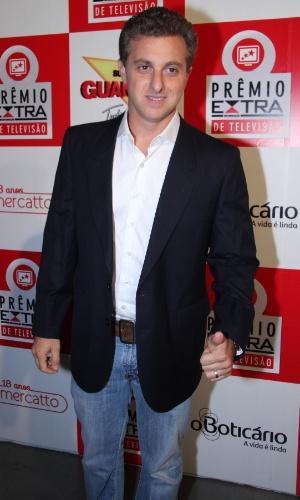 Luciano Huck, apresentador de TV, participa do Prêmio Extra de Televisão 27.nov.2012