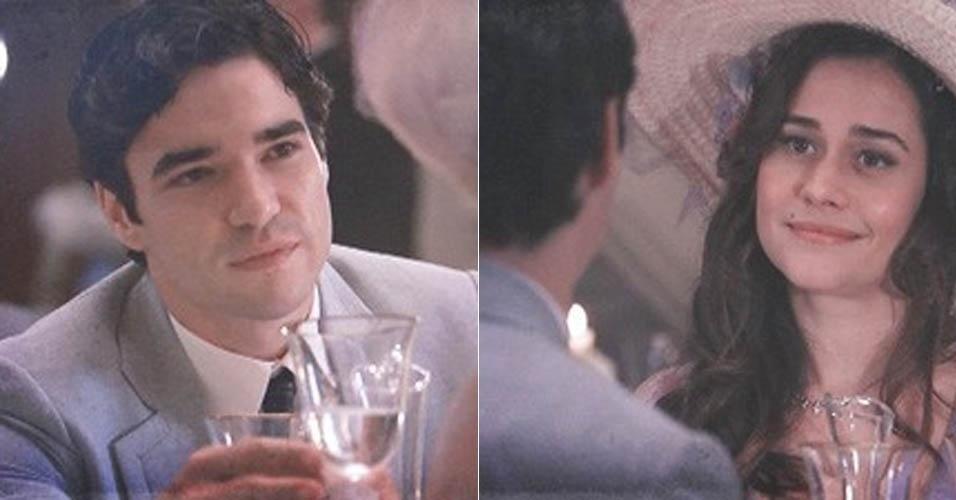 """Em """"Lado a Lado"""", Fernando joga charme para Catarina, sem saber que ela já dormiu com Umberto"""