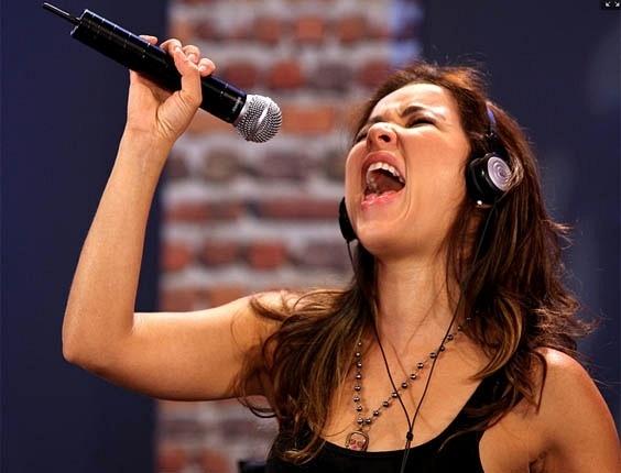 Liah Soares ensaio para o terceiro dia de apresentações ao vivo (26/11/2012)