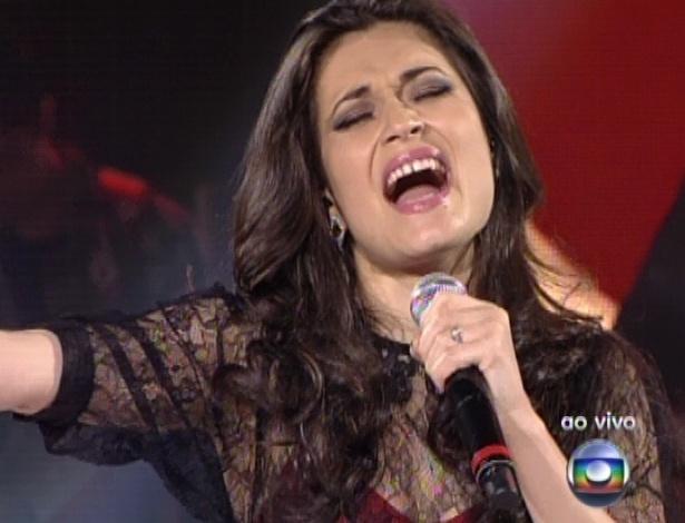 """Lorena Lessa canta ?Fulgás?, de Marina, na quinta semifinal do """"The Voice Brasil"""" (2/12/12)"""