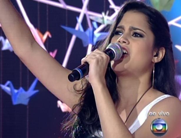 """Ana Rafaella canta """"Dona Cila"""", de Maria Gadú, na sexta semifinal do """"The Voice Brasil"""" (9/12/12)"""
