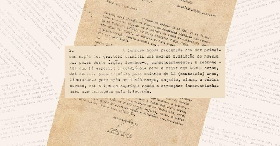 """Antes de vetar a versão de 1975 da novela """"Roque Santeiro"""", a censura reclassificou a história para o horário das 22h"""