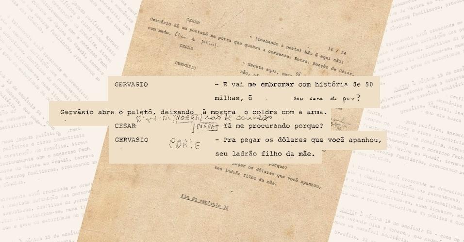 """Censores pedem corte da palavra """"porra"""" em diálogo do personagem César (Carlos Alberto Ricellii), de """"Vale Tudo"""""""