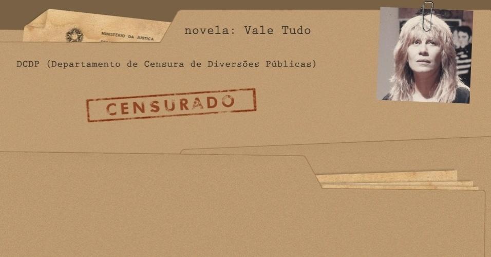 "Arquivo da censura da novela ""Vale Tudo"""