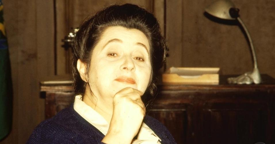 "1993 - A atriz Thelma Reston na minissérie ""Agosto"""