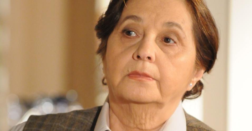 "2008 - A atriz Thelma Reston interpretou Olímpia na novela ""Negócio da China"""
