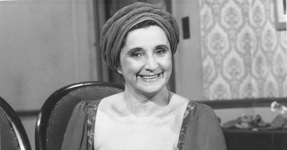 """A atriz Thelma Reston em um episódio de """"Caso Verdade"""""""