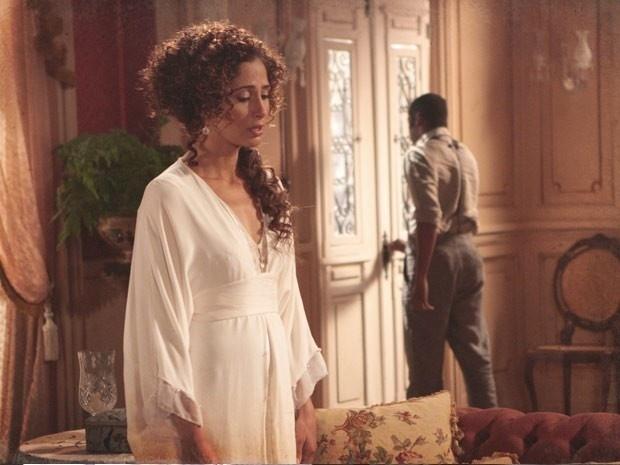 """Em """"Lado a Lado"""", Zé Maria vai embora após terminar relacionamento com Isabel"""