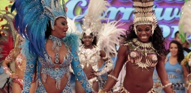 5.jan.2013 - Viviane, de 36 anos, e Michelle, de 26, foram selecionadas escolhidas para participar da semifinal do