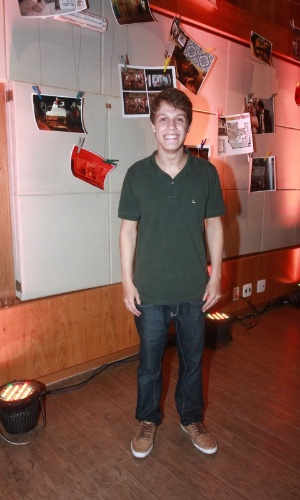 """7.jan.2013 - Daniel Torres também faz parte do elenco da nova série da Globo """"Pé na Cova"""", dirigida por Miguel Falabella"""