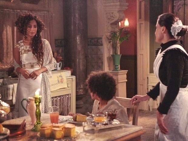 """Em """"Lado a Lado"""", Elias renega Isabel e a deixa arrasada"""