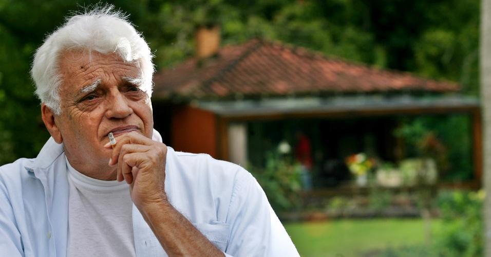 18.jan.2013 - Ator Walmor Chamas morava em Guaratinguetá, local onde foi encontrado morte nesta sexta-feira.