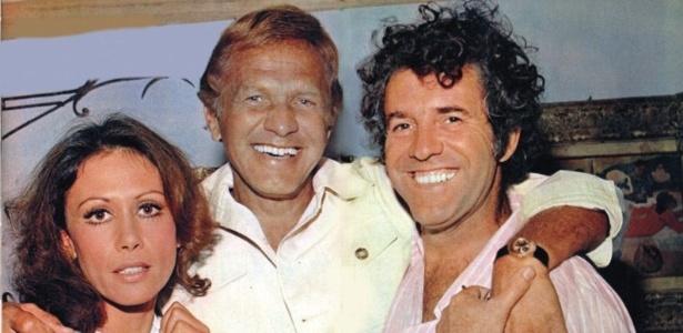 """Dina Sfat, Jardel Filho e Juca de Oliveira, personagens principais de """"Fogo Sobre Terra"""" (1974)"""